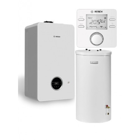 Bosch Condens 2300iW 15 P + WST 120-5 O + CW100