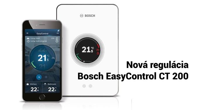 Regulácia Bosch Easycontrol